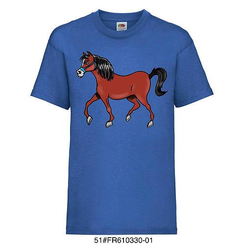 T-shirt enfant - Cheval (plusieurs coloris) - 1