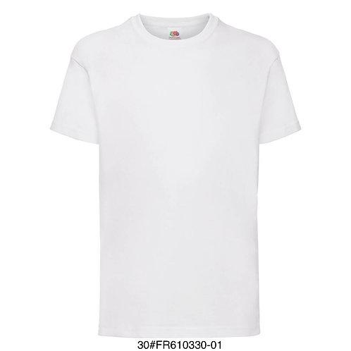 T-shirt enfant - Uni blanc