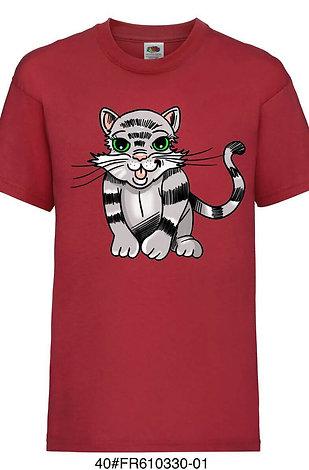 T-shirt enfant - Chaton (plusieurs coloris)