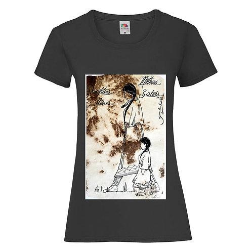 T-shirt femme - Navajo ind 09 (plusieurs colories) 1