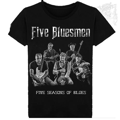 T-shirt homme - Groupe Five Bluesmen 1