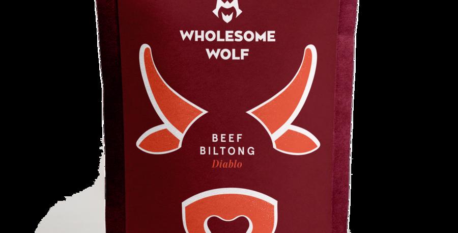 Wholesome Wolf Biltong: Diablo Beer