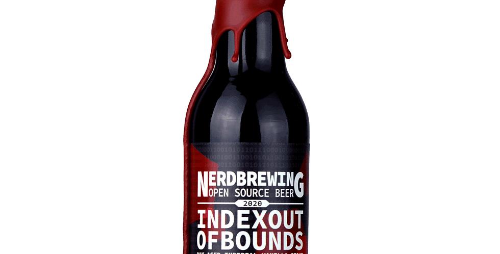 Nerd Brewing - IndexOutOfBounds Oak Aged Vanilla Stout Mole Edition