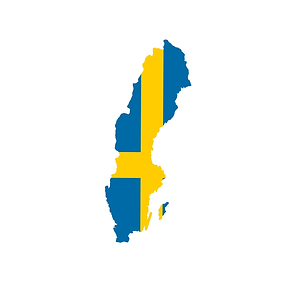 Sweden Flag Map.png