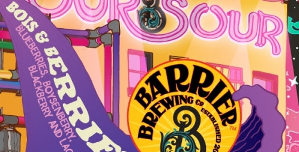 Pre-Order: Barrier Brewing Co   Our Sour: Bois & Berries
