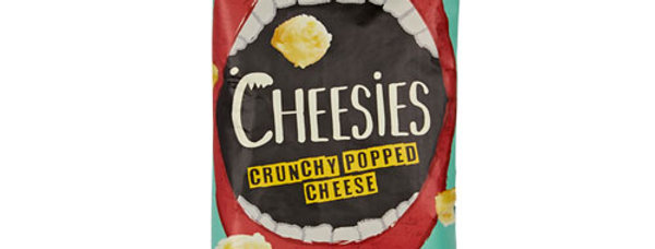 Cheesies Crunchy Popped Cheese - Emmental