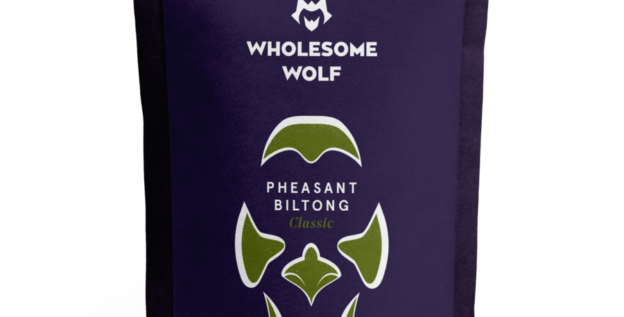 Wholesome Wolf Biltong: Classic Pheasant