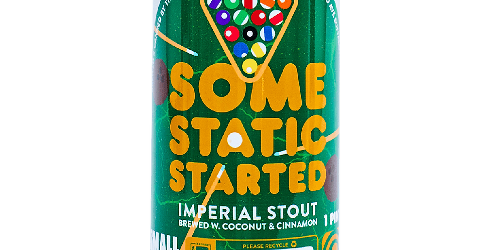 Pre-Order: Thin Man Brewery - Some Static Started