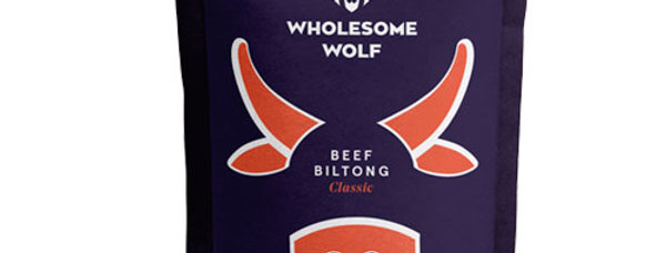 Wholesome Wolf Biltong: Classic Beef
