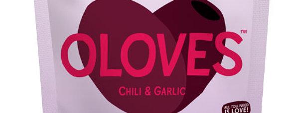 Oloves - Chilli & Garlic Black Olives