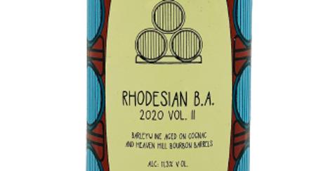 Brouwerij Frontaal - Rhodesian BA 2020 Vol II