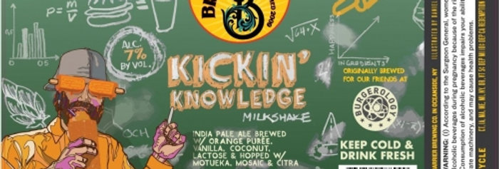 Kickin' Knowledge : Creamsicle