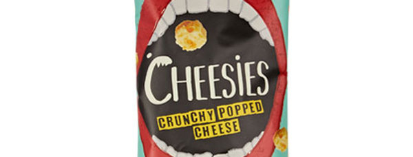 Cheesies Crunchy Popped Cheese: Cheddar