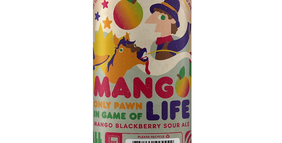 Pre-Order: Thin Man Brewery - Mango Only Pawn In Game of Life