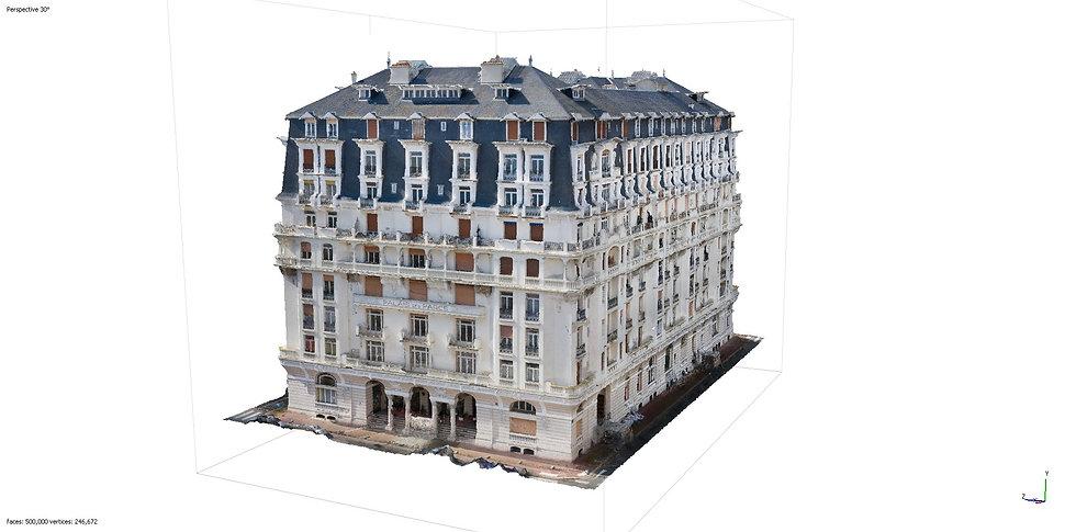 Modélisation 3D d'un bâtiment historique