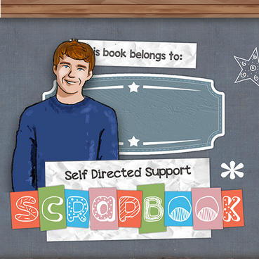 Self Directed Support Scrapbook
