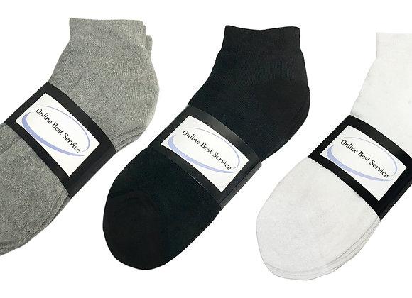Pairs Men's Sport Socks Ankle/Quarter Crew Athletic Socks