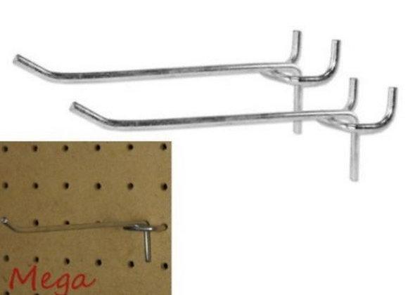 """100 PC PEG Board Hooks 4 inch Pegboard Hooks 4"""" Length Wholesale Lot"""
