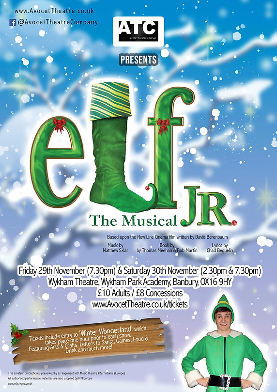 Elf the Musical Jr. by Avocet Theatre Company