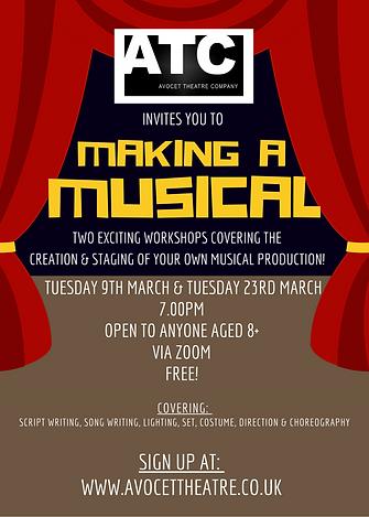 2 Workshops - Making a Musical Poster.pn