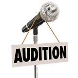 audition-sign-hanging-microphone-try-out