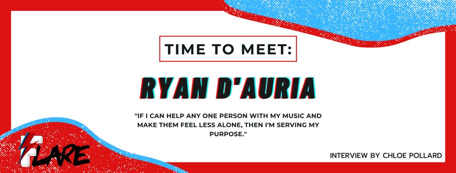 TIME TO MEET: RYAN D'AURIA