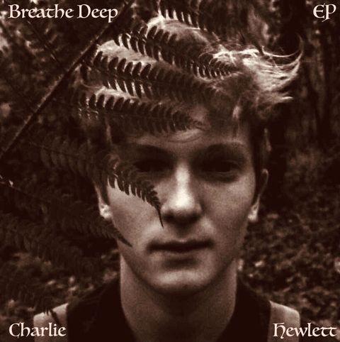 Charlie Hewlett Breathe Deep album cover by Megan Oakey.