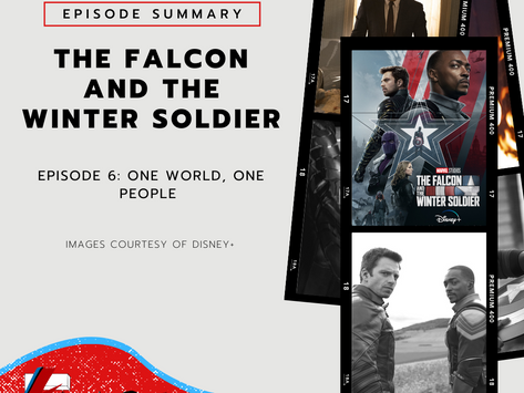 Series Finale: One World, One People   The Falcon and The Winter Soldier