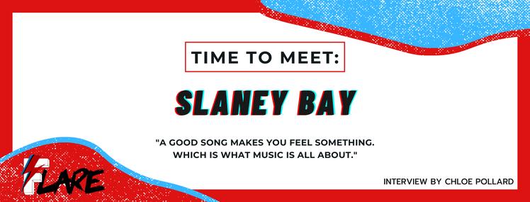 TIME TO MEET: SLANEY BAY