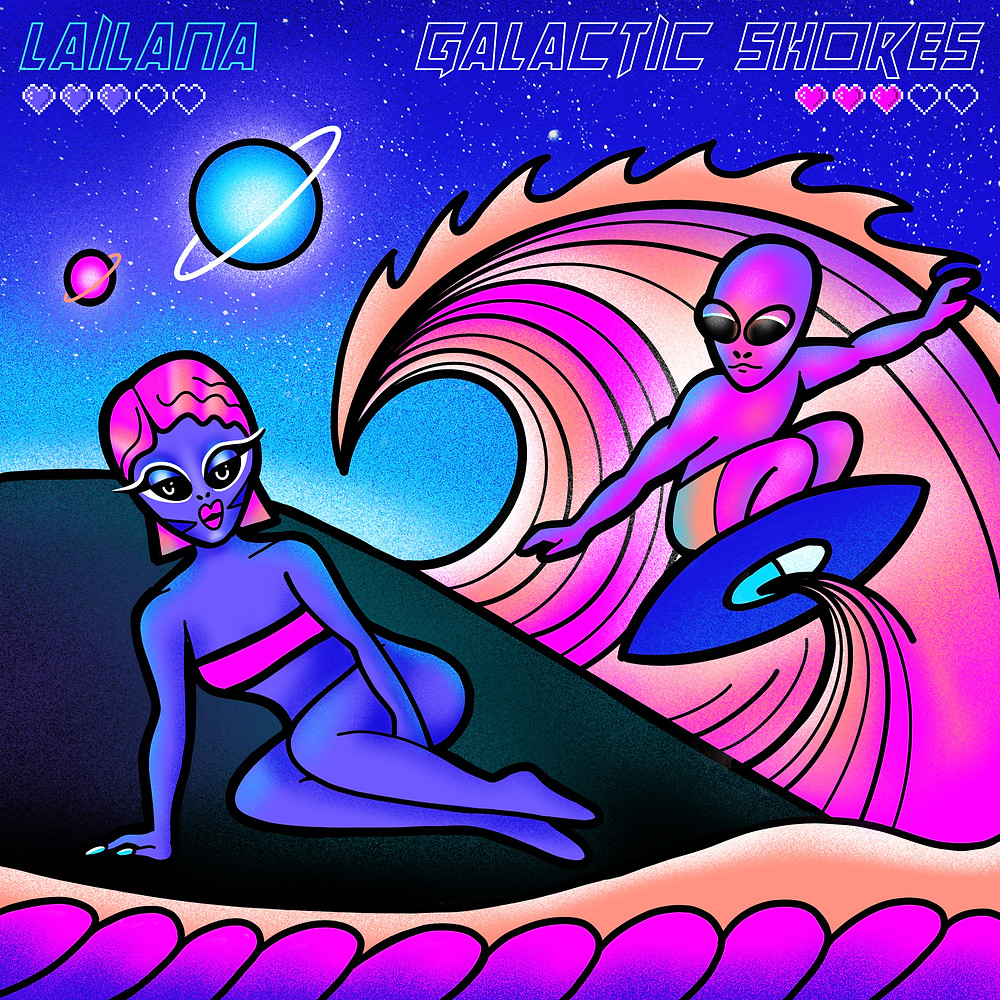 Galactic Shores by Lailana