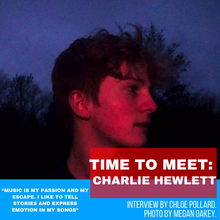 TIME TO MEET: CHARLIE HEWLETT