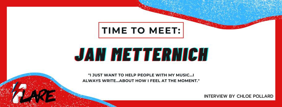 TIME TO MEET: JAN METTERNICH