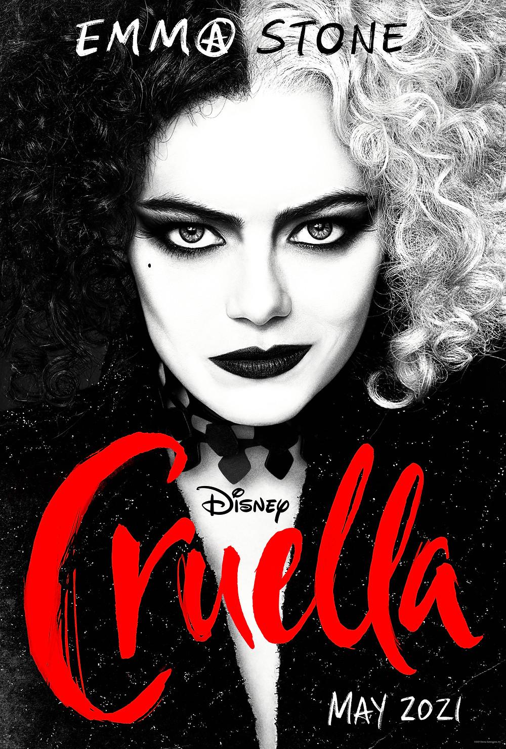 Cruella key art, film review