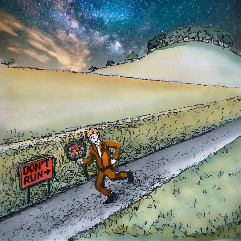 Wes Chamberlain Don't Run official artwork.