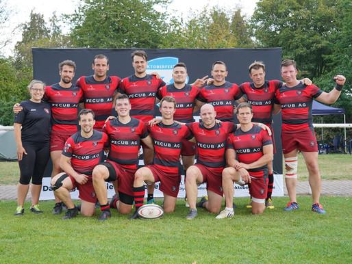 USV Adler landen auf dem 14. Platz bei der Deutschen Meisterschaft im Siebener Rugby