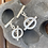 Thumbnail: Sterling silver shapes and symbols cuff-links