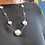 Thumbnail: Silver pebble necklace