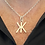 Thumbnail: Sterling silver shapes and symbol pendant