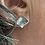 Thumbnail: Silver square earrings