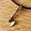 Thumbnail: Sentimental gold axe pendant