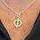 Thumbnail: Sterling silver shapes and symbols pendant