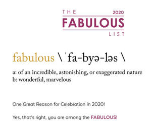 2020 Fabulous List