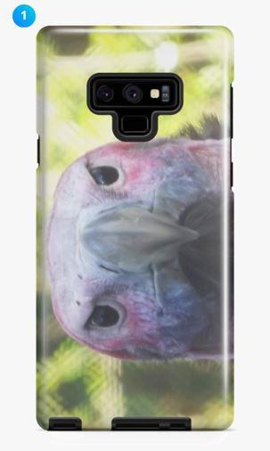 Lappet-faced Vulture Samsung Phone Case (Original)