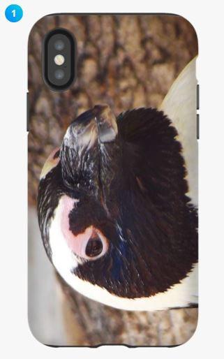 African Penguin Apple Phone Case (Original)