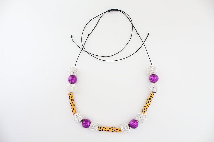 Cheetah Print Necklace II