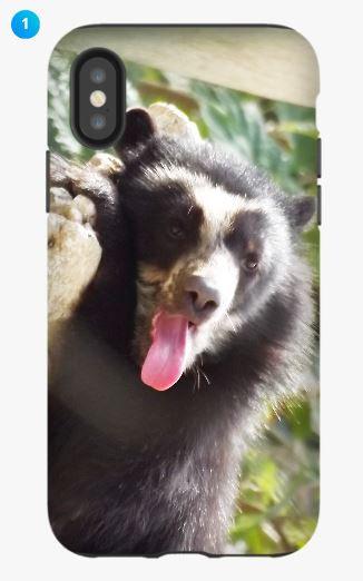 Andean Bear Apple Phone Case (Original)