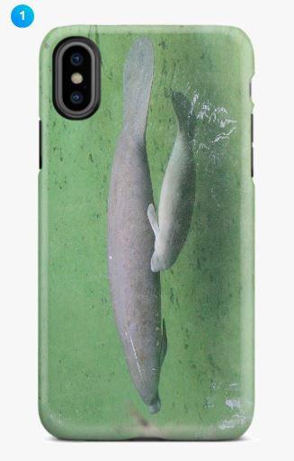 Manatee Apple Phone Case (Original)