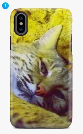 Bobcat Apple Phone Case (9 Colors)