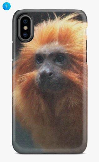 Golden Lion Tamarin Apple Phone Case (Original)