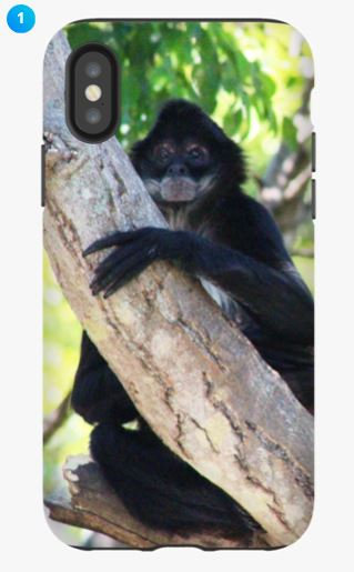 Mexican Spider Monkey Apple Phone Case (Original)